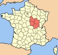 map bourgondie