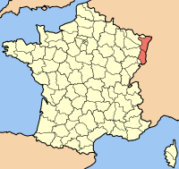 map elzas