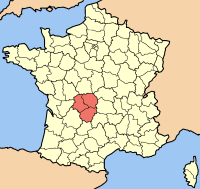 limousin map