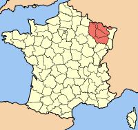 map lotharingen