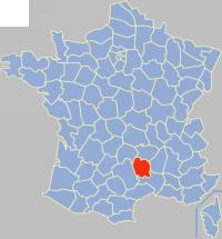 lozere map