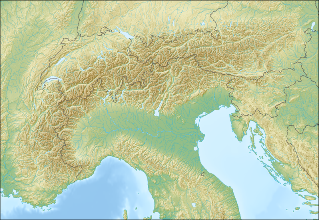 map alpen