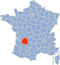 map dordogne
